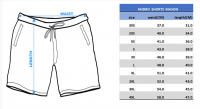 размеры шорты Mason