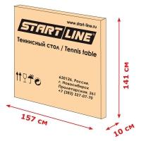 Теннисный стол Start-Line Olympic размеры упаковки