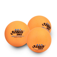 Мячи DHS 3* D40+ оранжевый