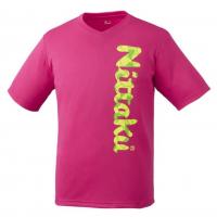 Nittaku B-Logo 2 розовая футболка