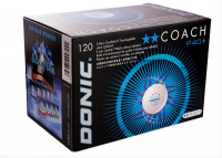 Мячи Donic 2* Coach P40+ 120 шт