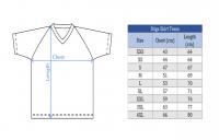 размеры футболки Стига Тим
