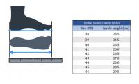Кроссовки Tibhar Toledo размеры