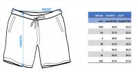 размеры шорт Tibhar Lady