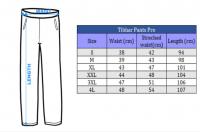 размеры брюк Тибхар Про