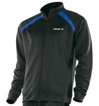 Tibhar World куртка черно-синяя