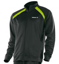 Tibhar World куртка черный-лайм