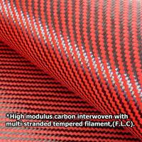 F. L. C. слой переплетенный нитями карбона
