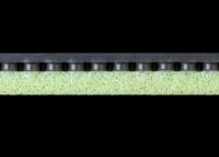 зеленая жесткая губка наклоадки AIBISS