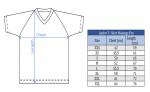 таблица размеров футболка Андро