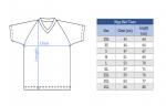 размера рубашки Stiga Team