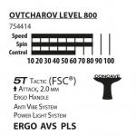 Ракетка DONIC / Schildkrot Ovtcharov 800