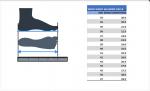 Размеры Кроссовки Donic WALDNER FLEX