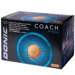 Мячи Donic 2* Coach P40+ оранжевый 120 шт