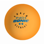 Мячи Donic 2* Coach P40+ оранжевый