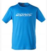 Футболка Donic Logo Promo син.