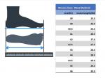 размеры кроссовок Mizuno