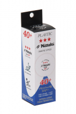 Мячи NITTAKU Nittaku SD 40+ 3*** ITTF 3 шт