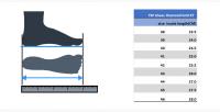 размеры Кроссовки TSP